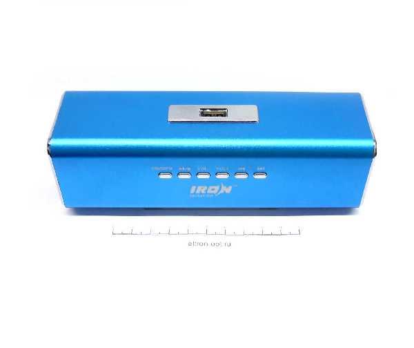 Колонка MP3 С FM/USB. MICROSD IR-02