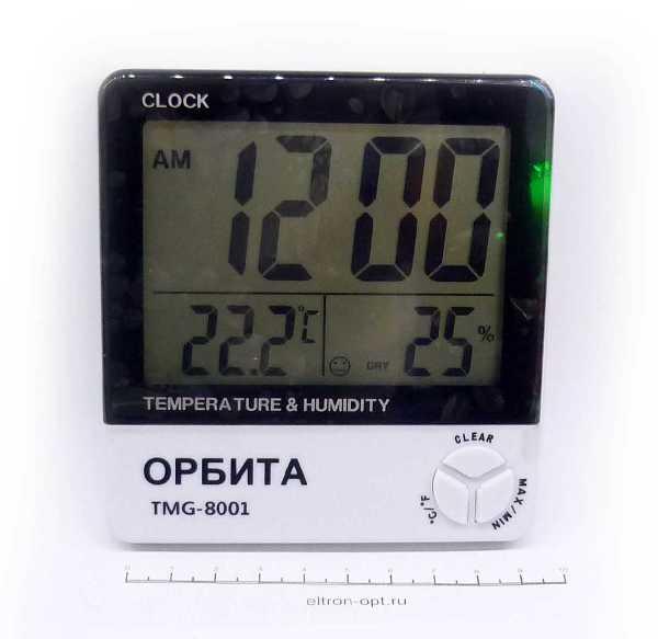 Термометр  TMG-8001 ЧАСЫ ТЕРМОМЕТР ГИДРОМЕТР