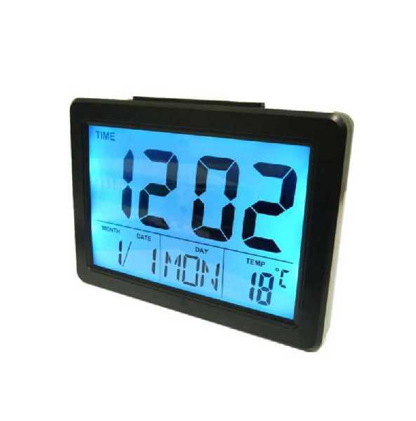 Часы НА ЖКИ 2619 ДАТА БУДИЛЬНИК LED ТЕМПЕРАТУРА