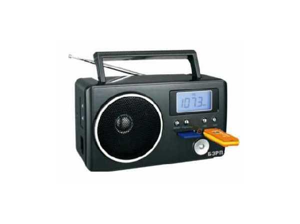Радиоприемник  БЗРП РП-204 USB SD