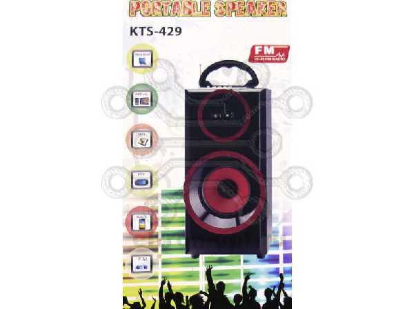 Колонка MP3 BLUETOOTH/USB/TF/FM   KTS-429