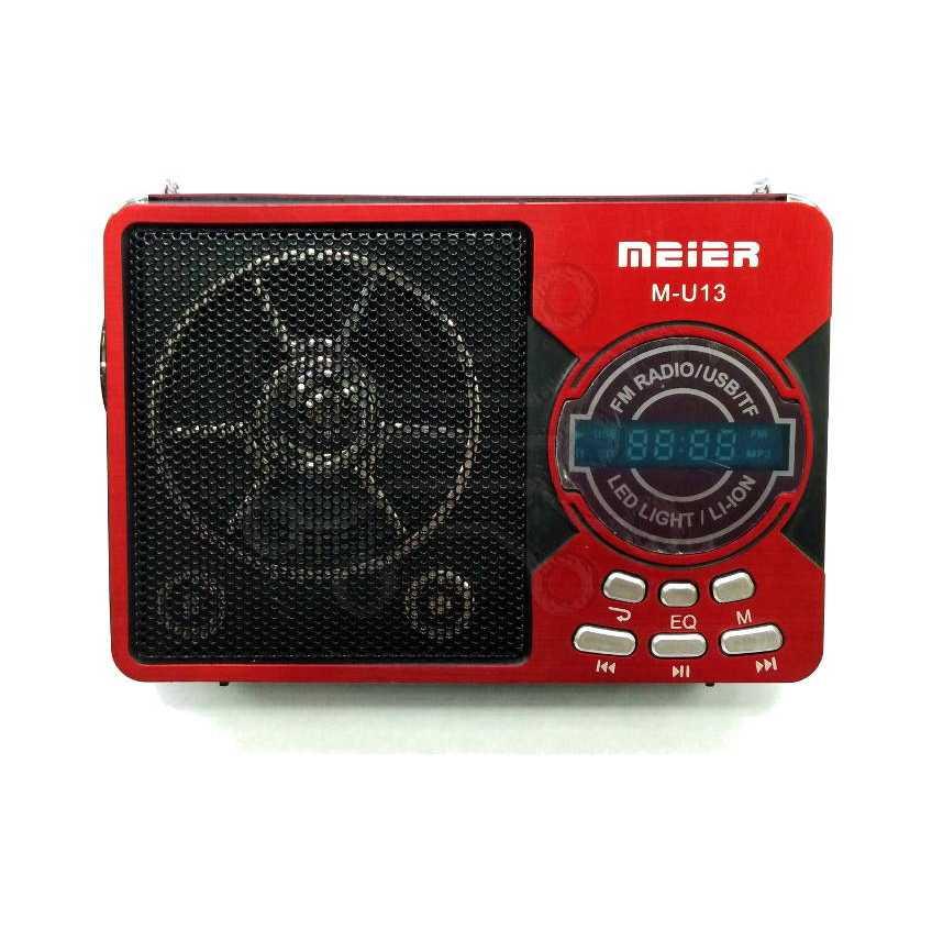 Радиоприемник  MEIER M-U13  USB  ЦИФРОВОЙ  USB