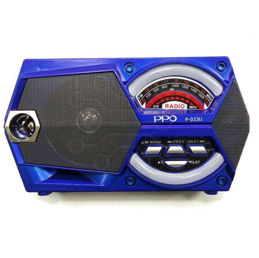 Радиоприемник  PRO P-033U USB  СЕТЕВОЙ