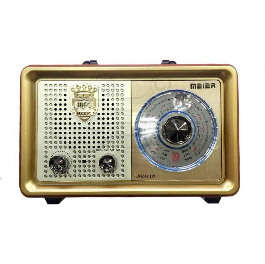 Радиоприемник  MEIER M-U110 USB  СЕТЕВОЙ