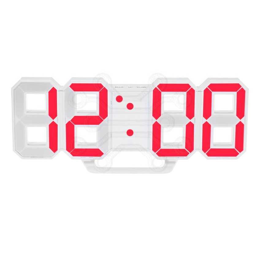 Часы с led дисплеем  PERFEO LUMINOUS PF-663 USB КРАСНЫЕ ЦИФРЫ