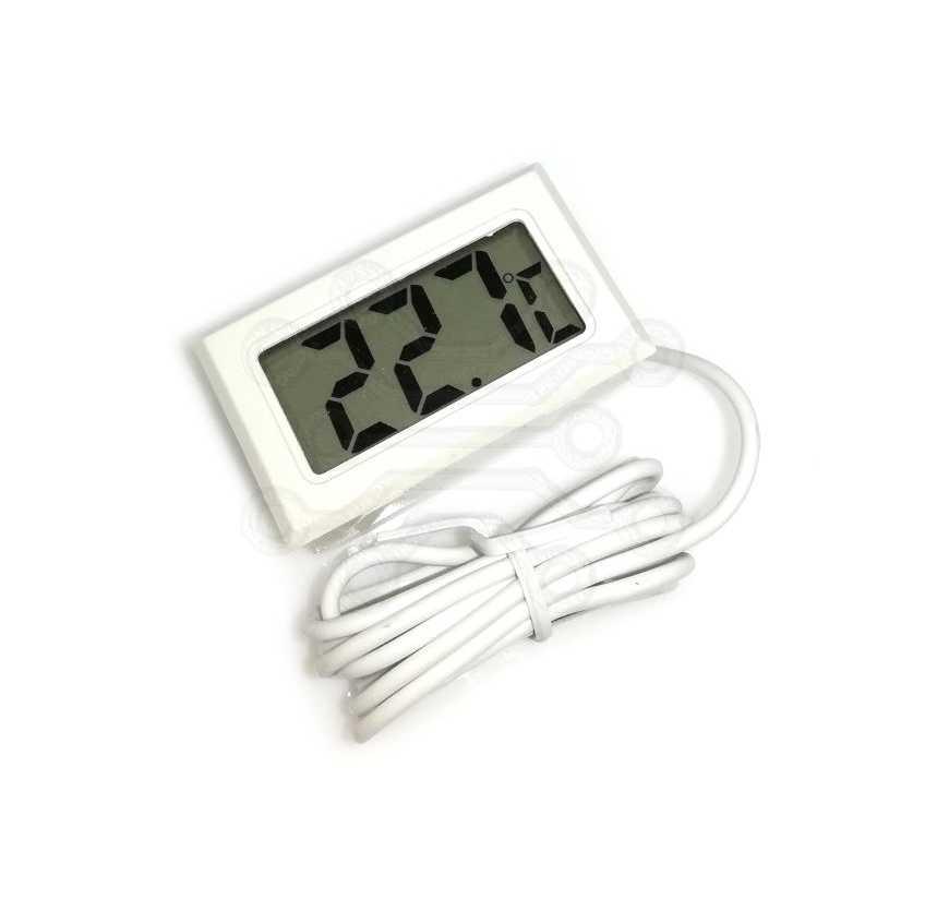 Термометр HT-1 БЕЛЫЙ ВЫНОСНОЙ ДАТЧИК 1М -50 +110°, Артикул 110005955