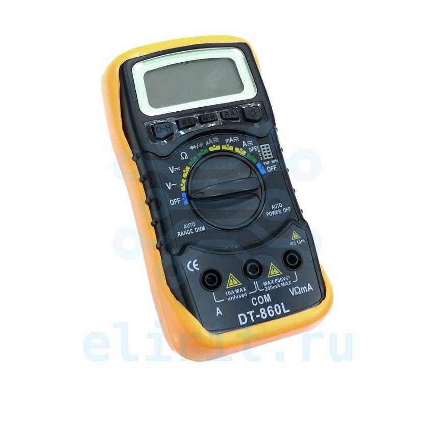 Мультиметр  DT-860L