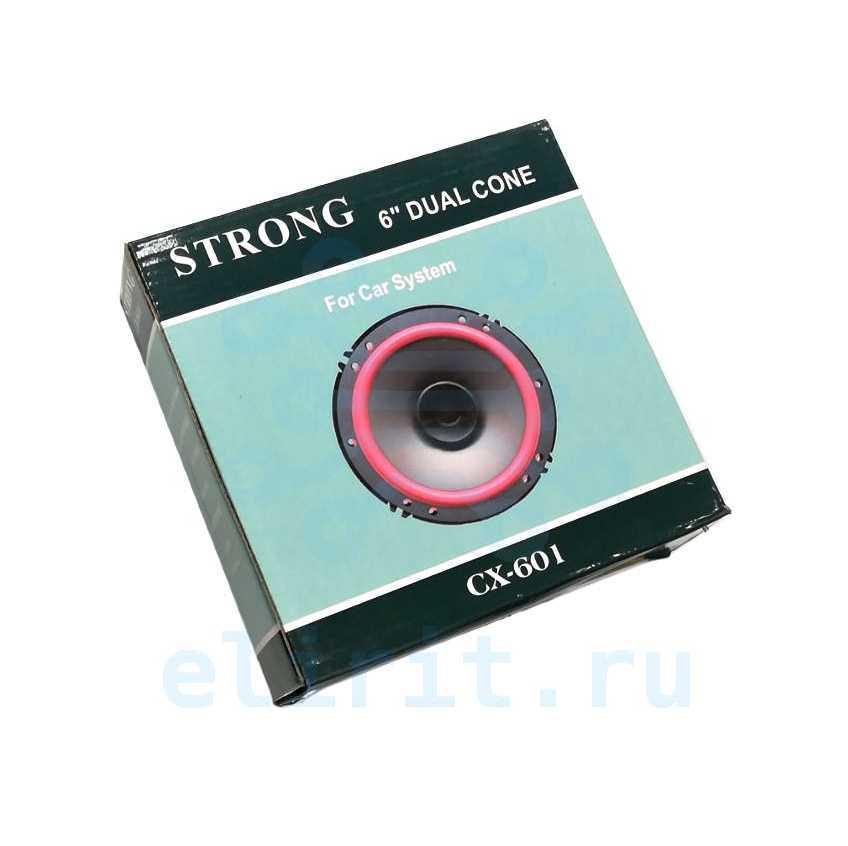 Динамик 16СМ 60W  4 ОМ CX-602 2-ПОЛОСНАЯ 1ШТ STRONG