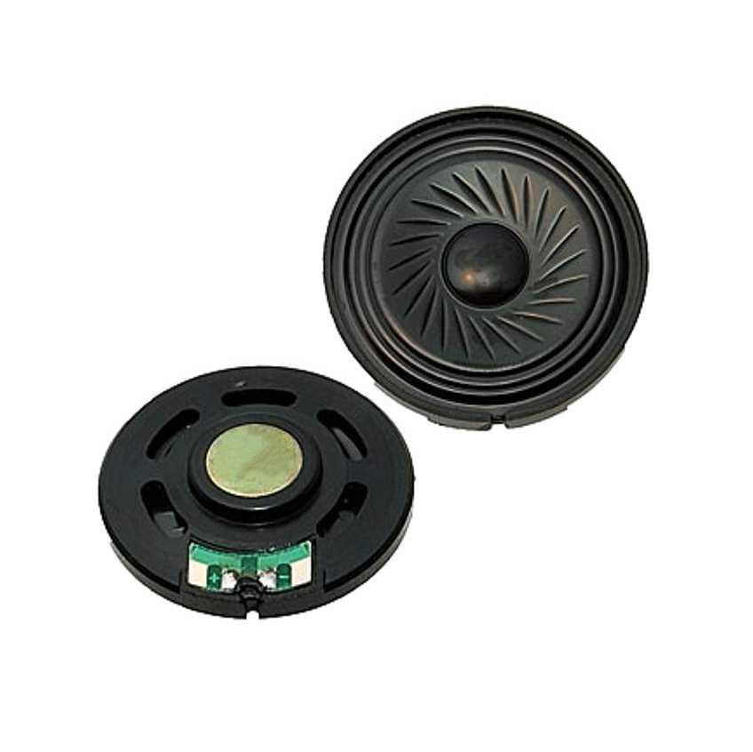 Динамик  0.25W   8 ОМ  40ММ DXP40N-A