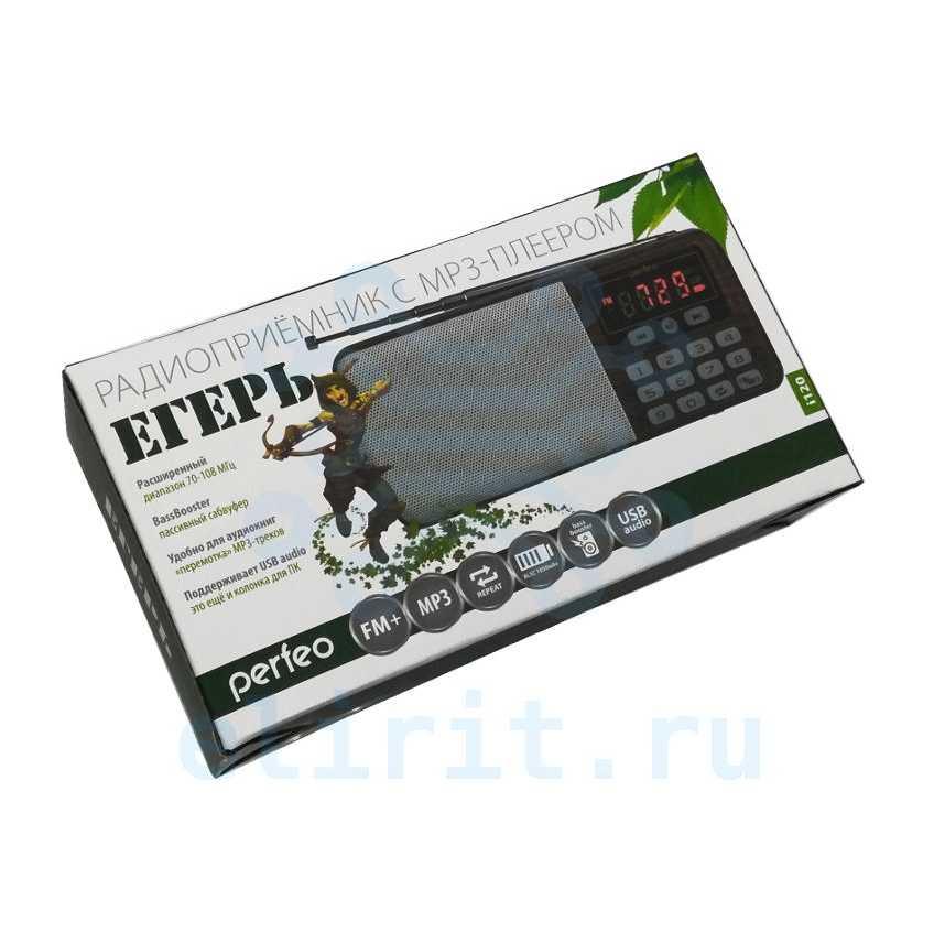Радиоприемник  PERFEO ЕГЕРЬ I120