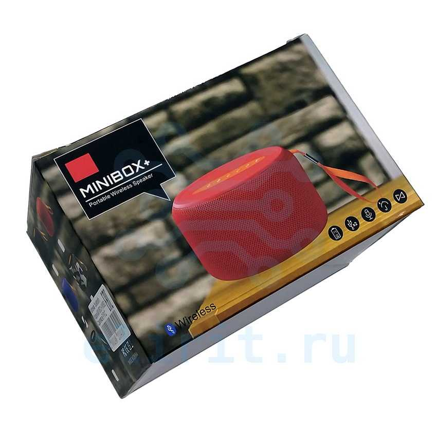 Колонка  BLUETOOTH GBL MINIBOX+
