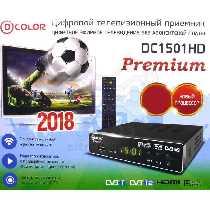 ЦИФРОВОЙ РЕСИВЕР DVB-T2 D-COLOR DC1501HD