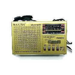 Радиоприемник  WAXIBA  XB-323URT  USB