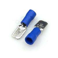Клемма ножевая 6.4 (M)  MDD2-250  СИНИЙ