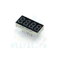 Lcd индикатор  KEM-3461AG ЗЕЛЕНЫЙ