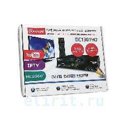 ЦИФРОВОЙ РЕСИВЕР DVB-T2 D-COLOR DC1301HD