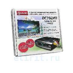 ЦИФРОВОЙ ПРИЕМНИК  D-COLOR DC702HD DVB-T2