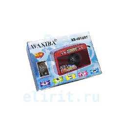 Радиоприемник  WAXIBA  XB-491URT  USB